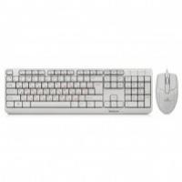 Комплект REAL-EL Standard 505 Kit (клавіатура + миша) White, USB
