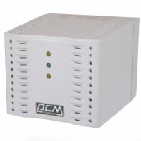 Стабилизатор Powercom TCA-3000 (белый) ступенчатый, 1500Вт, вход 220В+/-20%, выход 220V +/- 7%