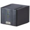 Стабілізатор Powercom TCA-1200 чорний, ступінчастий, 600Вт, вхід 220В +/- 20%, вихід 220V +/- 7%