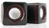 Колонки 2.0 HQ-Tech HQ-SP194U Black-Wine USB